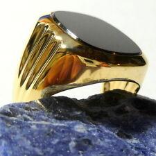 Echtschmuck aus Gelbgold mit Ø) Ringe für Herren (19,1 60
