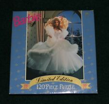 1989 Holiday Barbie Golden Puzzle-1993 issue 120 Pieces Brand New-Sealed Box