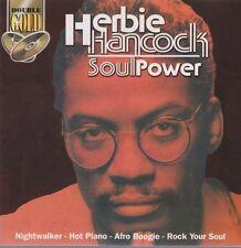 Herbie Hancock soul power (nightwalker, Afro Boogie) double CD double Gold