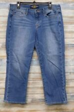Lucky Brand Jeans 14 x 24 Women's Sweet n Crop Straight  Stretch  (H-63)
