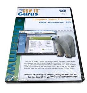 How To Gurus Computer Video Training: Adobe Dreamweaver CS3 - 2 DVDs