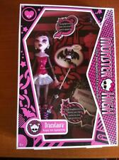 NIB Monster High Draculaura 1st Wave First Wave 2009 Release First Edition RARE!