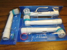 4 Braun Oral-B Ortho Electric Toothbrush Brush Heads for Braces/Orthodontics