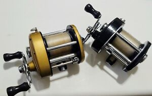 Vintage Shakespeare 1969 And 1969B Supersport Casting Reels