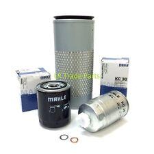 LAND Rover Defender 300tdi kit filtro servizio completo Mahle Olio & Carburante Filtri impostati