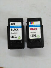 4 Canon Generic PG640XL CL641XL 640 641 XL Ink Pixma MX476 MX526 with INK LEVEL