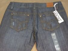 084 WOMENS LEE RIDERS LOW RISE STR8 BLUE STRETCH JEANS SZE 10 NWT, $100 RRP.