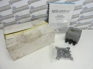 QUANTUM pH Monitor and Analyzer Q45P with Hardware and Instructions (NEW in BOX)