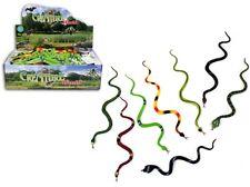 8x Schlangen aus Gummi ca 30 cm - Mitgebsel Geburtstag Party Dekoration