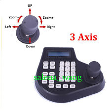 3D Joystick RS485 CCTV Keyboard Controllers for CCTV PTZ High Speed Dome Camera