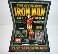 Bowen Designs Marvel Comics Iron Man Statue Poster Promo New 2001 Avengers