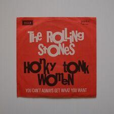 "ROLLING STONES - Honky tonk women - 1969 YUGOSLAVIA 7"" SINGLE"