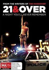 21 & Over (DVD, 2013) (Region 4) Aussie Release