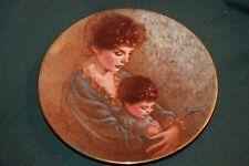 Roman/Irene Spence Ltd Ed Plate - A Baby'S Prayer - Sweetest Songs