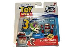 Disney Pixar Toy Story 3 LASER BUZZ LIGHTYEAR & SPARKS  Buddy Pack