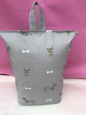 Hand Made DoorStop Using Sophie Allport Terriers Dogs PVC Fabric - FILLED NEW