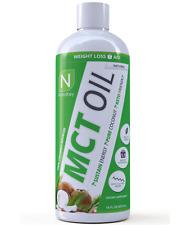 Nutrakey MCT Oil Coconut Oil FAT LOSS HEART HEALTH, 16oz.