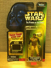 Kenner Star Wars Power Of The Force  Lando Calrissian As Skiff Guard w/slide new