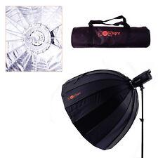 120cm Easy-Open Deep Parabolic Umbrella Softbox & Bag | LuxLight | Bowens Mount