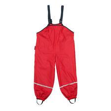 Vêtements rouges en synthétique pour garçon de 2 à 16 ans