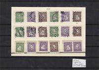 denmark 1924 both heads mnh + used stamps cat £140+ ref 7624
