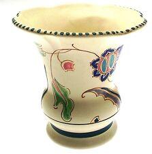 c1956 Monkton Jacobean Honiton flower vase or decorative pot