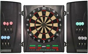 Dartscheibe Wembley Profi Turnier Elektronisch Dartboard Dart in Kabinett Neu