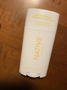 native deodorant Buttercream And French Vanilla