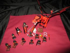 LEGO Castle Dragon  Minifigures LOT Knights,Soldiers,Weapons, Wizard  ,Armor .