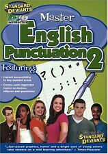 Standard Deviants: Master English Punctuation, Vol. 2 63186 (DVD Used Very Good)
