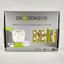 OKIDOKEYS Smart Reader for Smart Lock, RFID Tags, Mobile Phone - USRE01USWH