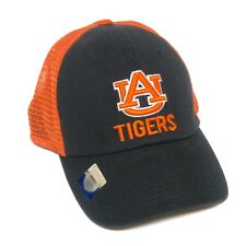 Auburn University Tigers Orange and Navy Blue Snapback Hat, Adjustable