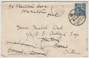 Shanghai, China 1931 cover to Canada