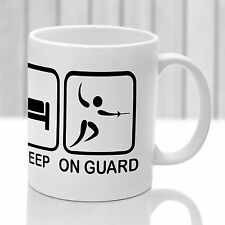 Fencing Mug. Ideal gift for fencing enthusiast. Sword