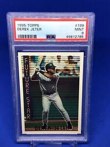 1995 Topps Derek Jeter Future Star Base PSA 9 Yankees #199 HOT