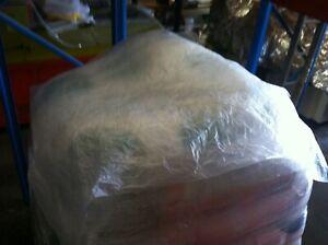 Pallet Top Large Sheet Covers 1.66metresx1.64metres 40 Plastic wrap