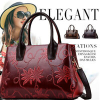 Fashion Women Leather Handbag Shoulder Bag Lady Crossbody Messenger Tote Purse