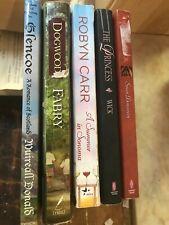 Romance 5 Book Lot Assorted