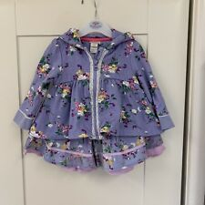 Monsoon Matching Set, Skirt And Jacket Age 3-6 Months