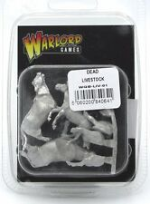 Warlord Games WGB-LIV-01 Dead Livestock Battlefield Terrain Cow Horse WWII NIB
