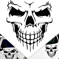 """22"""" Black Pre-Cut Skull Decal Graphic Sticker for Truck Jeep Off-Road Car Hood"""