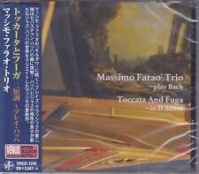 Massimo Farao' Trio Toccata and Fuga in D minor Play Bach Japan Venus Records CD