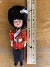Vintage 1960's London Guard Doll Axp 6� Tall