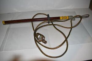 ^^ SAFETY LINE INC 100 KV/FT 5 MIN 1926.950 DRAIN LINE CABLE (JQ89)