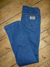WRANGLER Jeans Mens Blue Denim Big & Tall Fit 936DEN  W35 L38 RRP £95 [14]