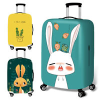 Cartoon Travel Luggage Cover Protector Elastic Suitcase Bag Scratch-resistant