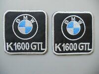 PATCH BMW K1600 GTL PZ 2 RICAMATA TERMOADESIVA CM.5,5X5,5-COD.356