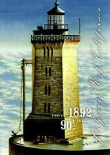 Lighthouses, St. George Reef Lighthouse, Pre Stamped Official Usps Postcard