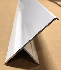 "92"" White Aluminum Off Set T Molding Slide Out Box Trim  4 1/2"" x 1 1/2"" RV-545"