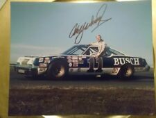 1979 Cale Yarborough Autographed #11 Busch Beer 8 X 10 Photo